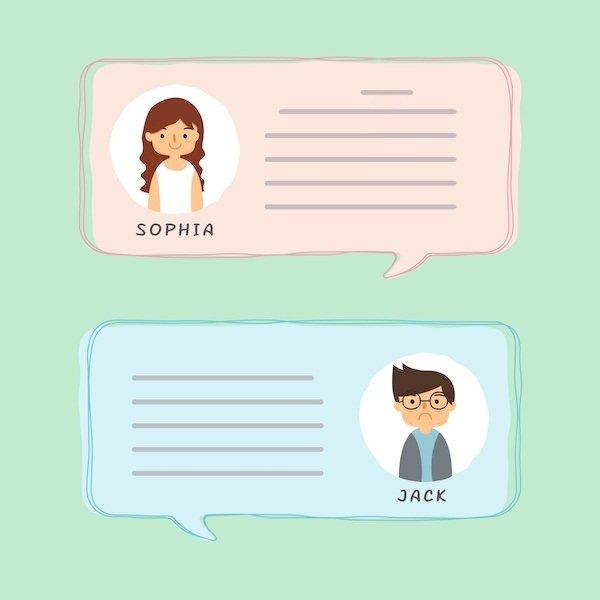 terapia online mensajeria