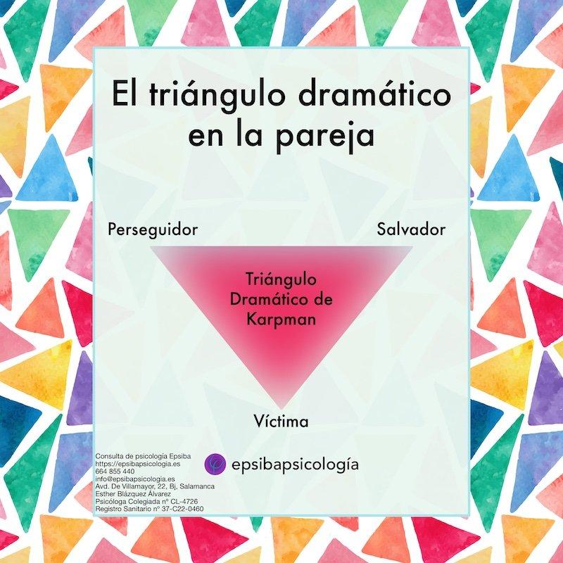 triangulo dramatico en la pareja