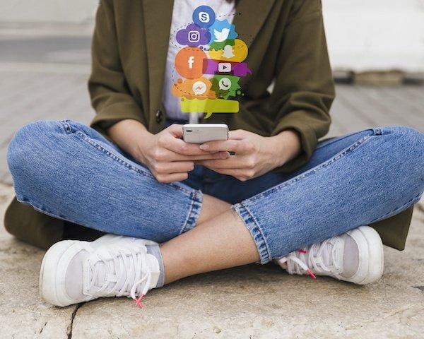 redes sociales dependencia